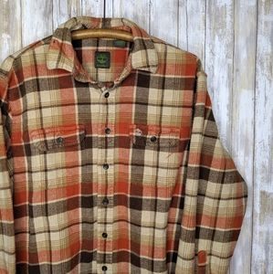 Timberland Flannel Plaid Cotton XL